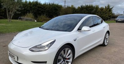UK Tesla Export Shipping