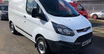 UK Export Ford Transit Custom Shipping