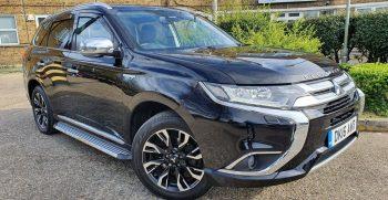 Mitsubishi Outlander 2.0h 12kWh GX4hs CVT 4WD (s/s) 5dr